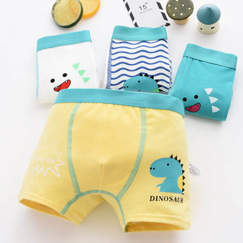 Boys Boxer Shorts Comfortable Underpants