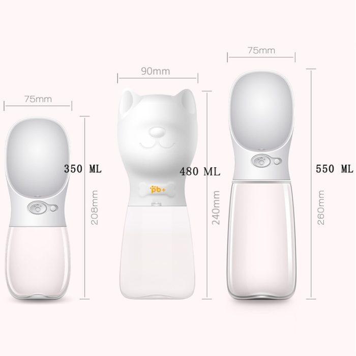 Portable Dog Water Bottle Dispenser