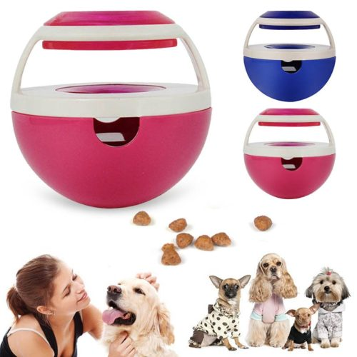 Dog Treat Dispenser Interactive Play Toy