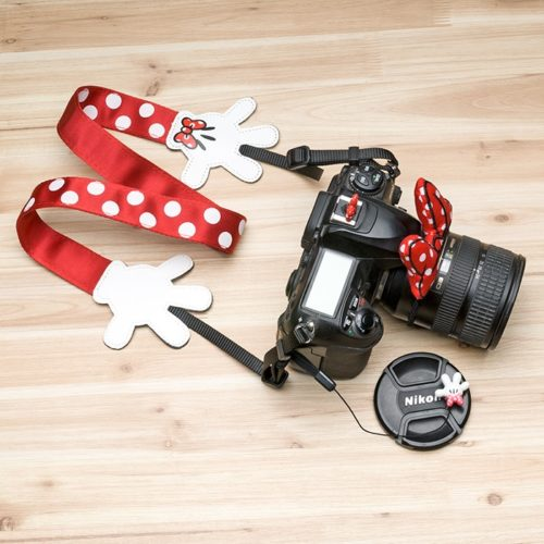 Camera Strap Minnie Mouse Accessories