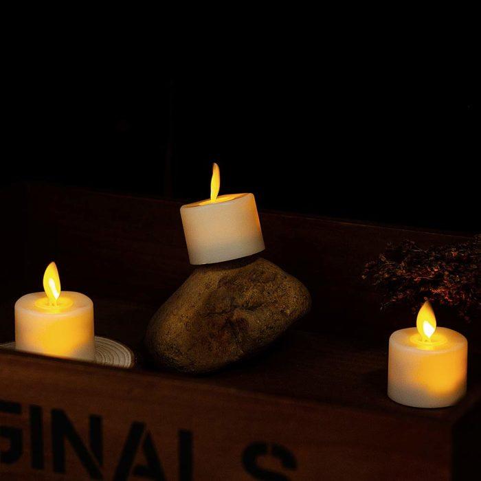 LED Tea Lights Flameless Candles