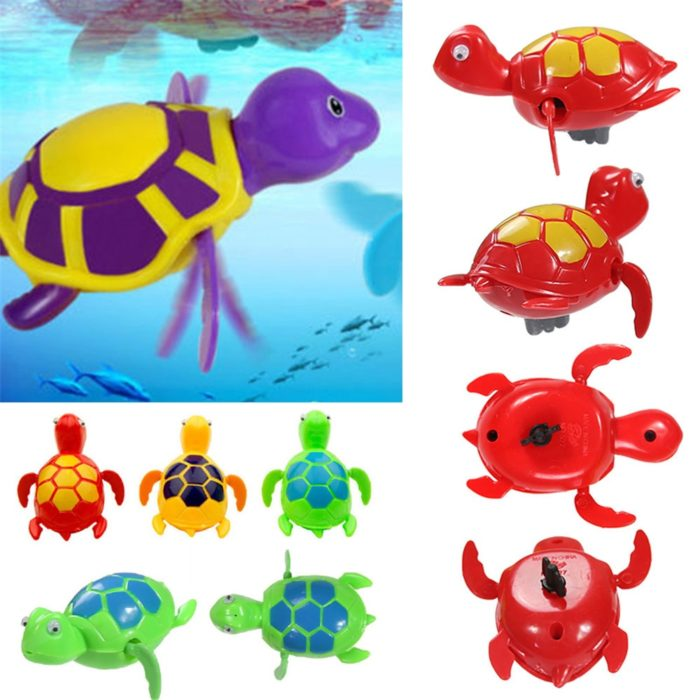Bath Toys For Toddlers Swimming Turtle