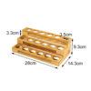 Essential Oil Rack Wooden Organizer
