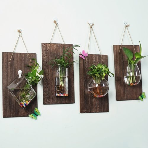 Glass Plant Pots Hanging Vase