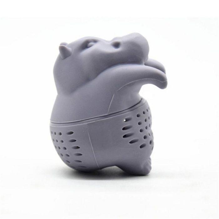 Tea Steeper Hippo Silicone Tea Filter