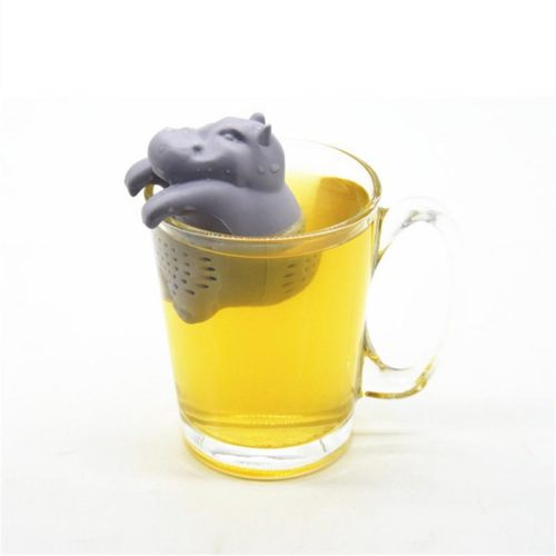 Tea Steeper Hippo Silicone Tea Filter