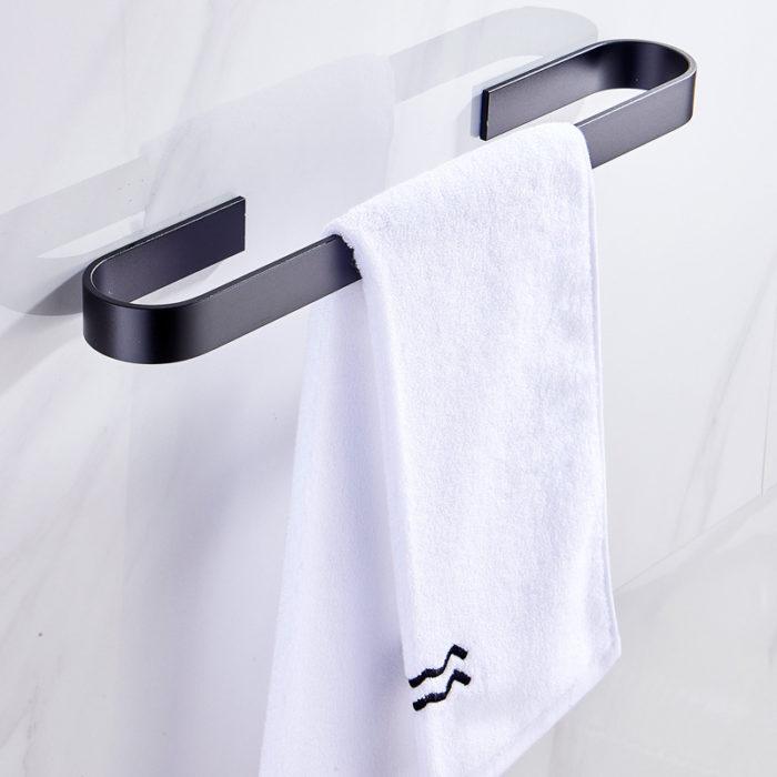 Bathroom Towel Holder Hanging Bar