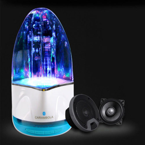 Speaker Lamp Mini Bluetooth Device