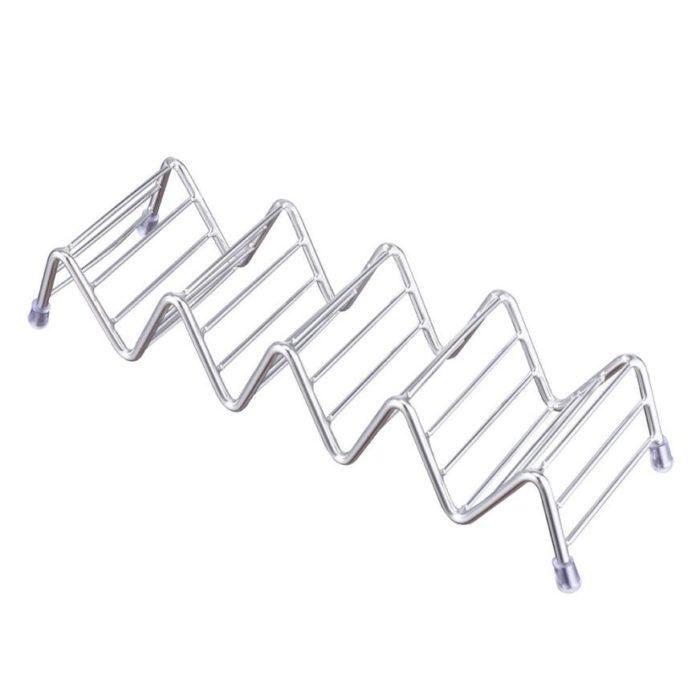Taco Holder Stainless Steel Rack