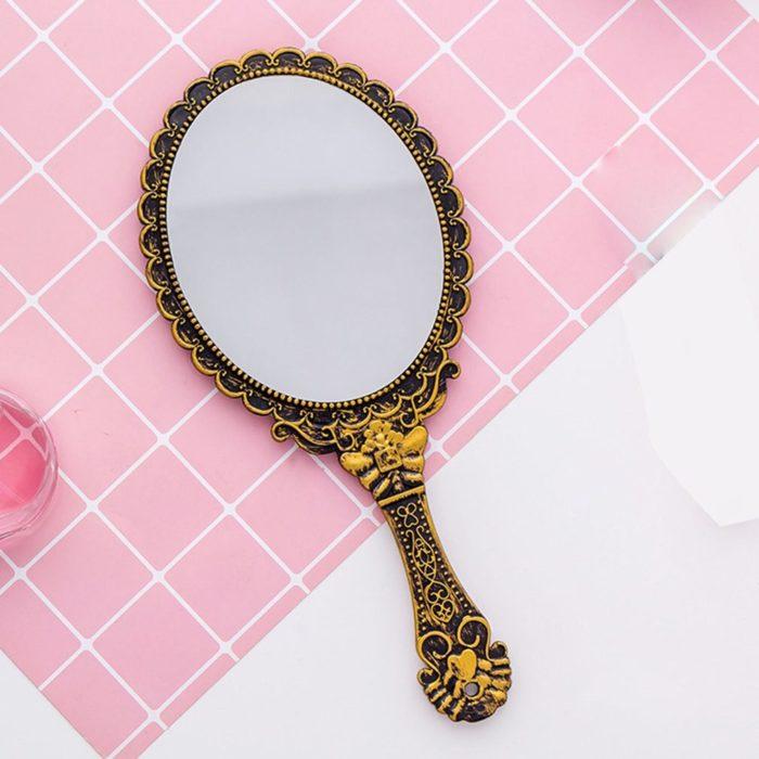 Hand Held Mirror Vintage-Style Design