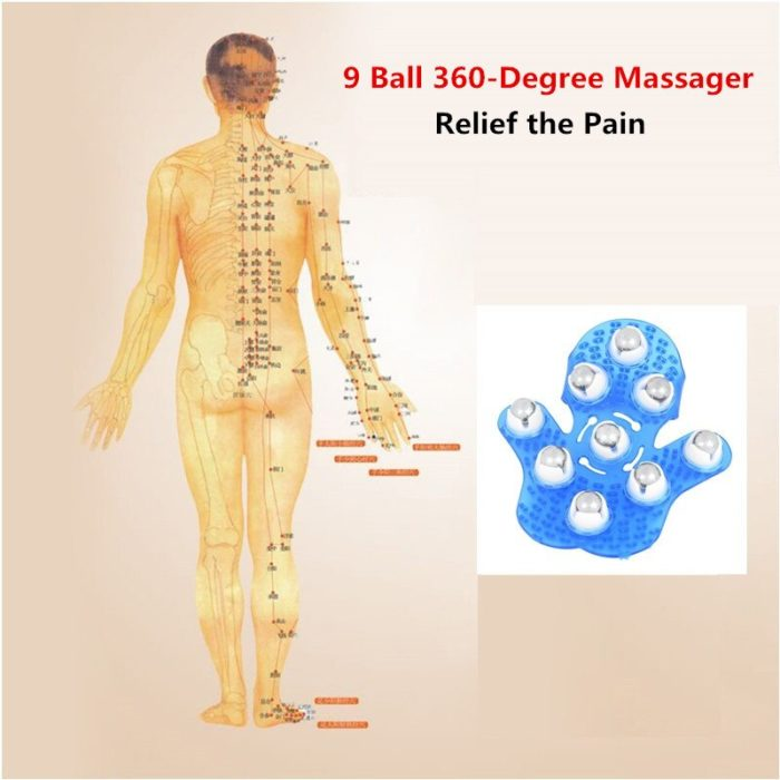 Palm Massager for Relaxation and Pain Relief