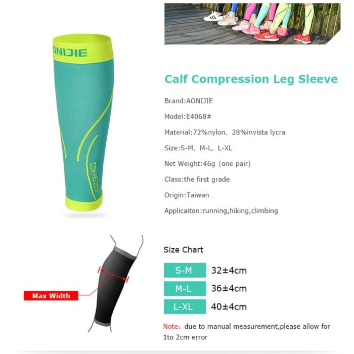 Calf Sleeve Leg Compression Support