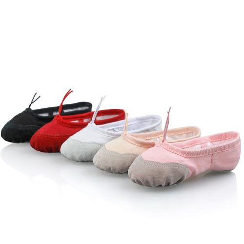 Girls Ballet Shoes Breathable Footwear