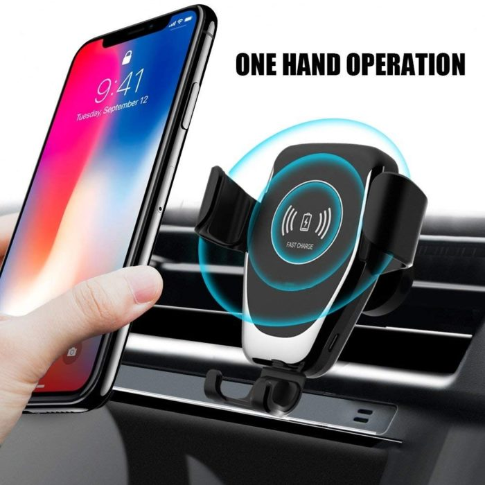 Wireless Car Charger Mount Phone Holder