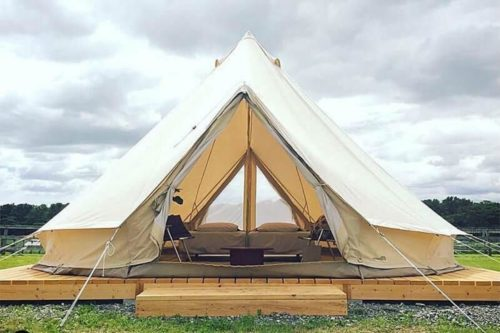 Glamping Tent Large Capacity Teepee
