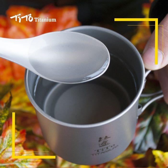 Titanium Spork Camping Tableware