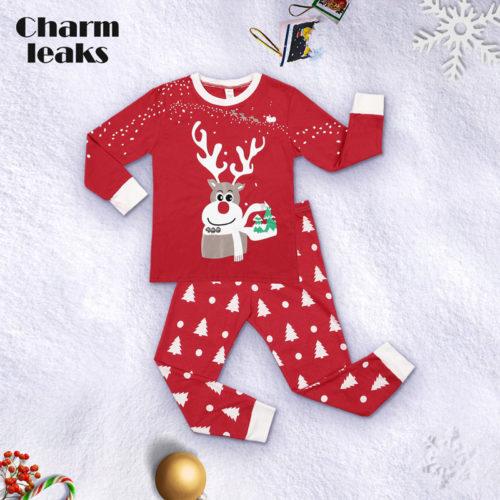 Kids Pajama Sets Winter Sleepwear