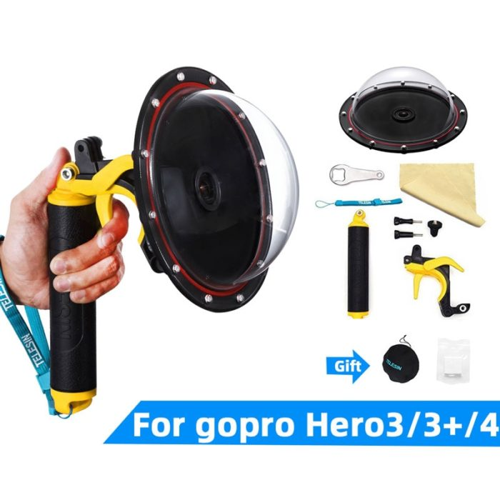 Dome Gopro Waterproof Camera Lens