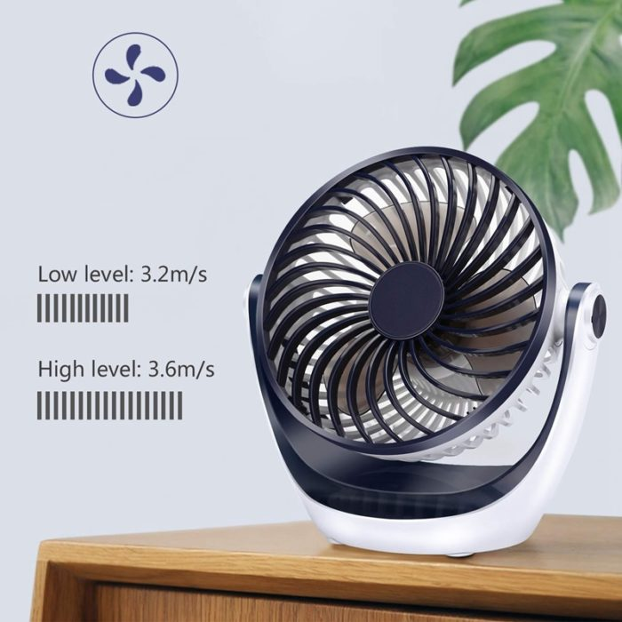 Mini Portable Fan Rotatable Desk Fan