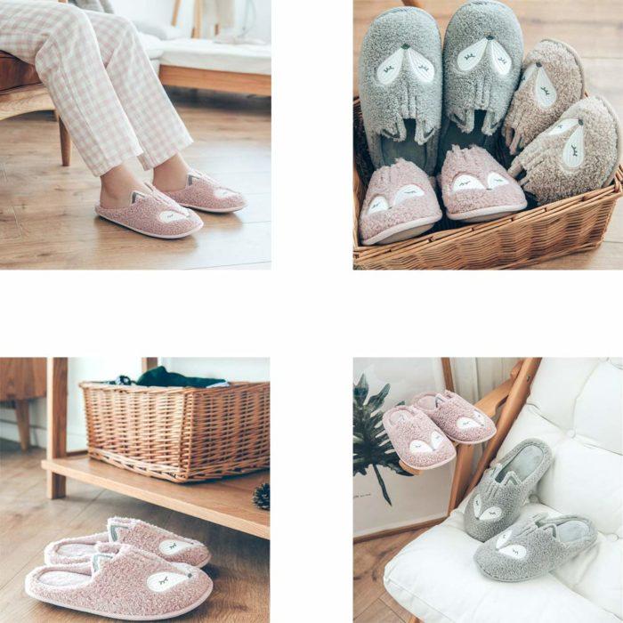 Bedroom Slippers Indoor Footwear