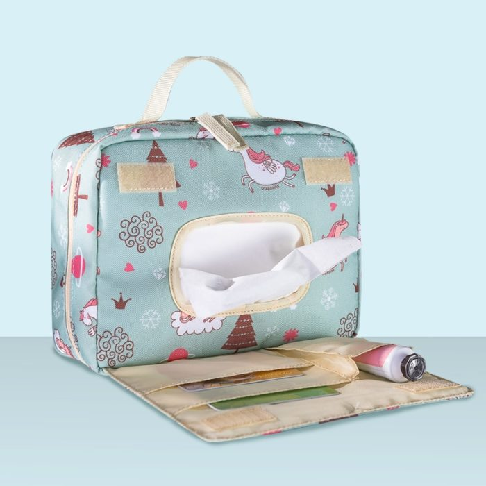 Baby Nappy Bag Wet/Dry Diaper Bag