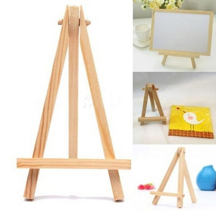 Mini Easel Wooden Stand