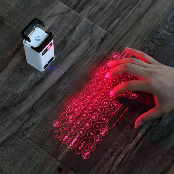 Hologram Keyboard Bluetooth and Cord-free