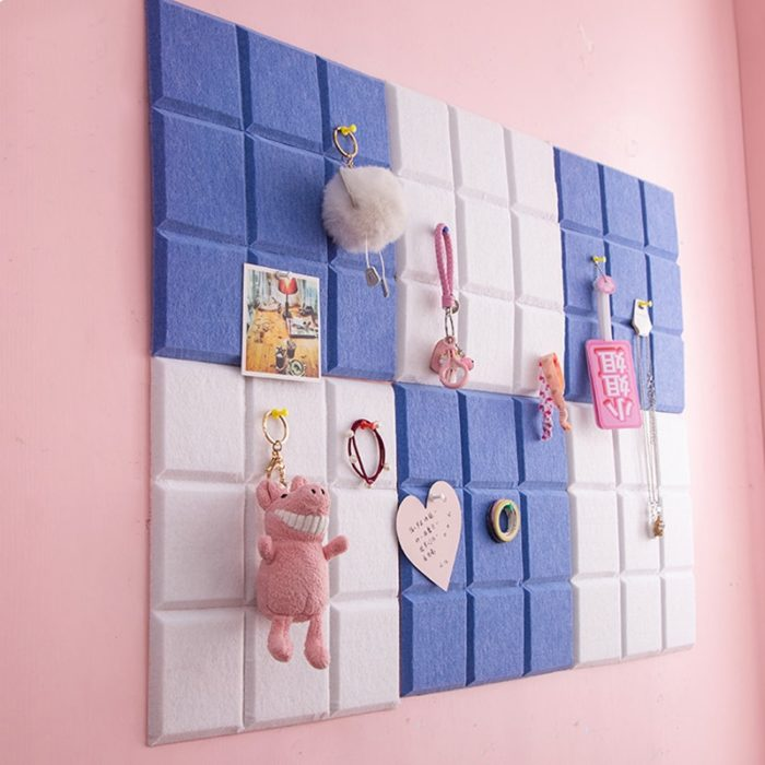Pin Up Board Felt Wall Mount (2Pcs)