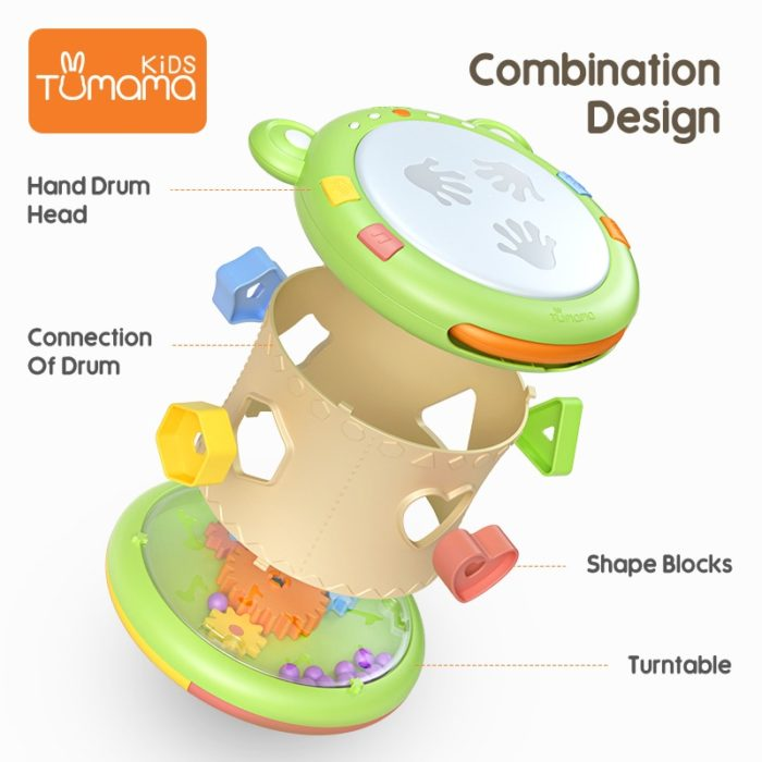 Baby Drum Educational Musical Instrument
