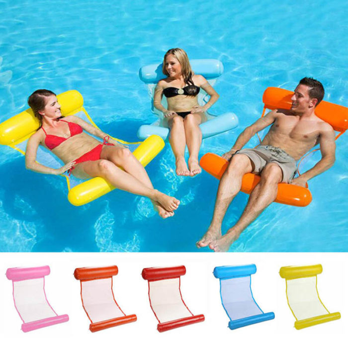 Water Hammock Inflatable Pool Chair
