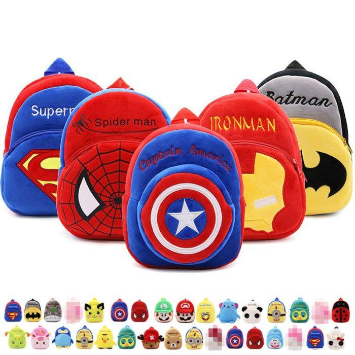 Plush Backpack Kids Cute Bags