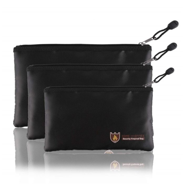 Fireproof Bag Portable Fireproof Pouch