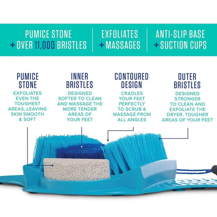 Feet Scrubber with Pumice Stone