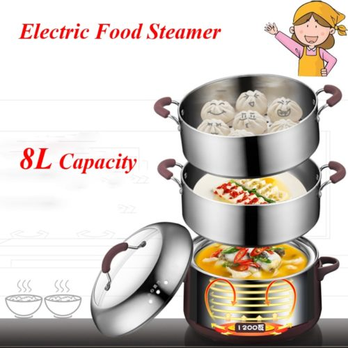 Electric Food Steamer 3-Layer Machine