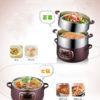 Electric Food Steamer 3-Layer Machine