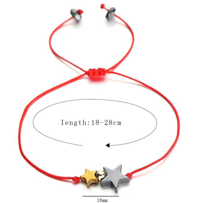 Friendship Bracelets Double Star Bracelet