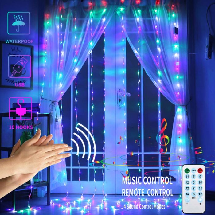 Musical Christmas Lights Remote Control