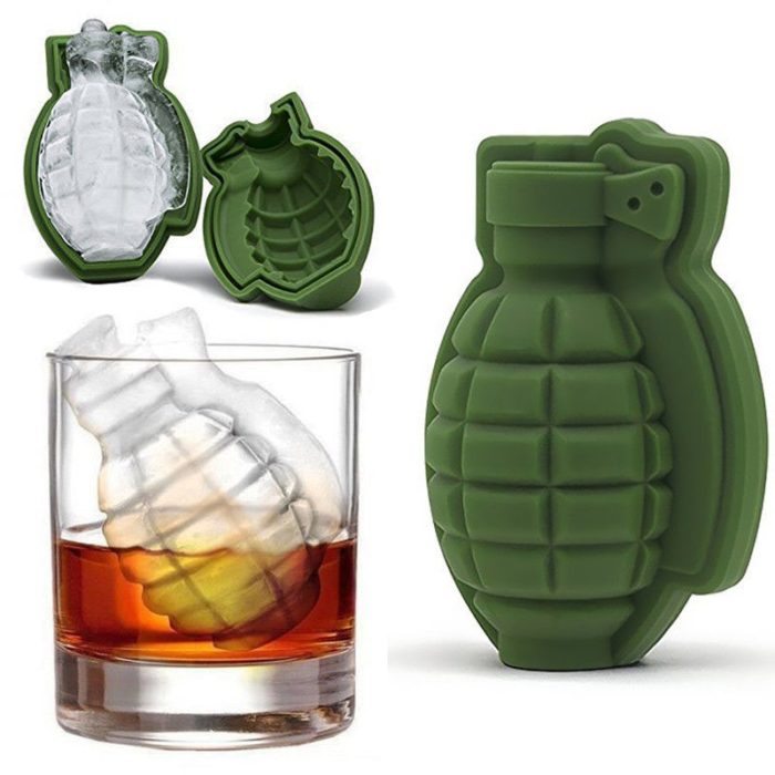 Ice Cube Mold Silicone 3D Shape