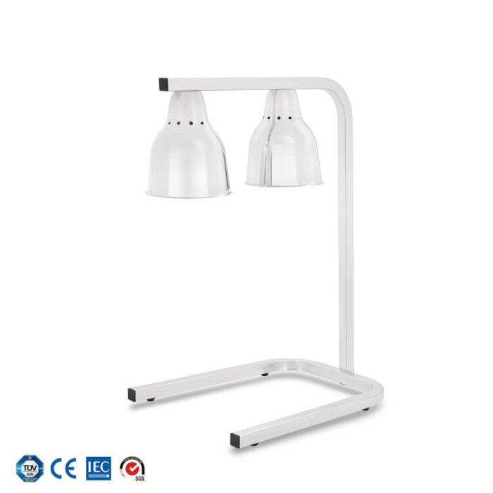 Food Heat Lamp Double-Headed Light