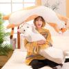 Cat Plush Long Stuffed Pillow