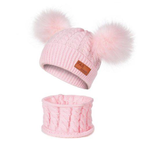 Toddler Winter Hat Kids Scarf Set