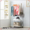 Wardrobe Rack Movable Clothes Rack