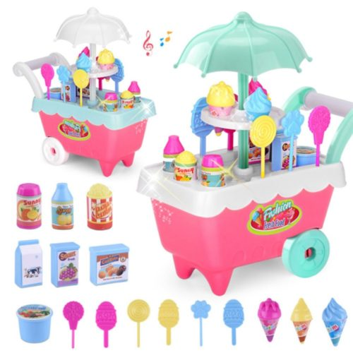 Ice Cream Cart Toy Pretend Play