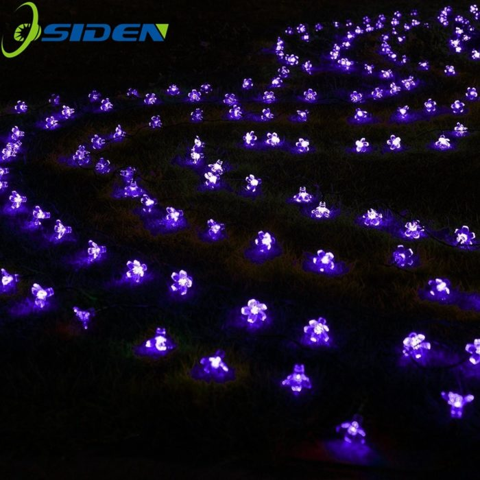 Solar Flower Lights Garden Decoration