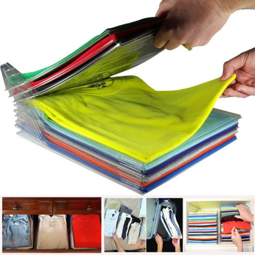 Shirt Organizer Clothes Folding Board