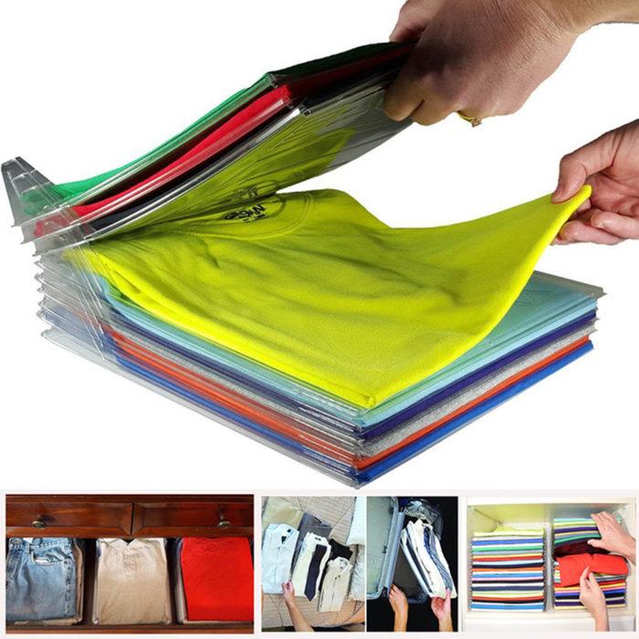 Shirt Organizer Clothes Folding Board