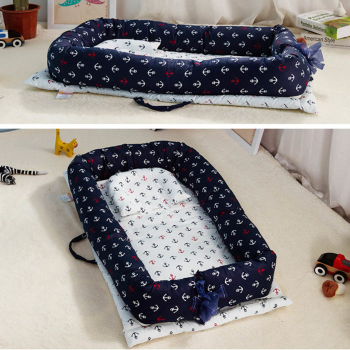 Baby Nest Bed Foldable Sleeping Bed