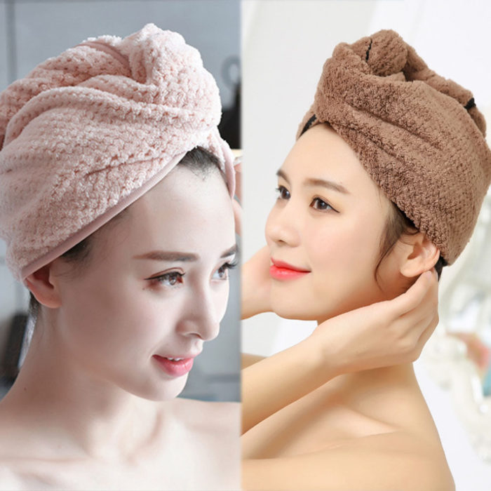 Towel Turban Hair Drying Towel