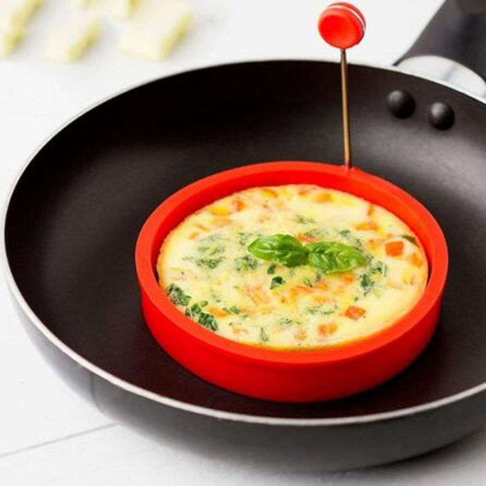 Silicone Egg Mold Pan Fry Molder