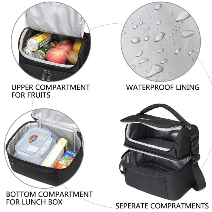 Lunch Cooler Bag Large Insulated